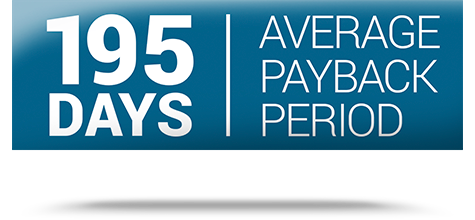 ur_benefits_fastest payback in the industry_sign