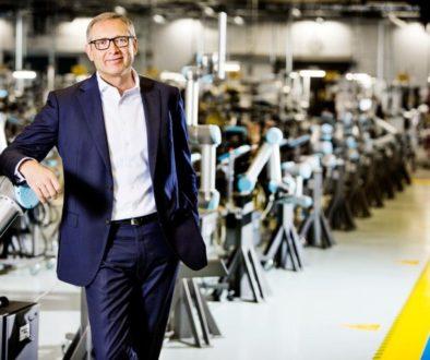 Jürgen von Hollen President Universal Robots