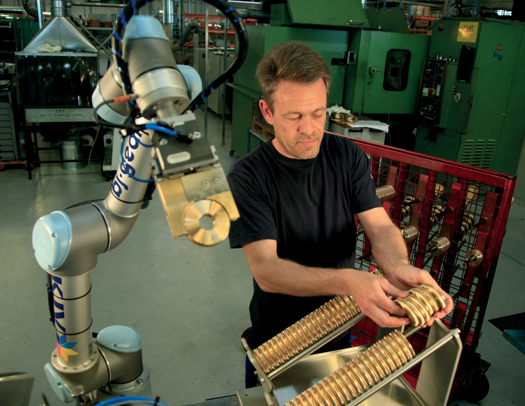 Cobots are robots designed to work right alongside their human operators.