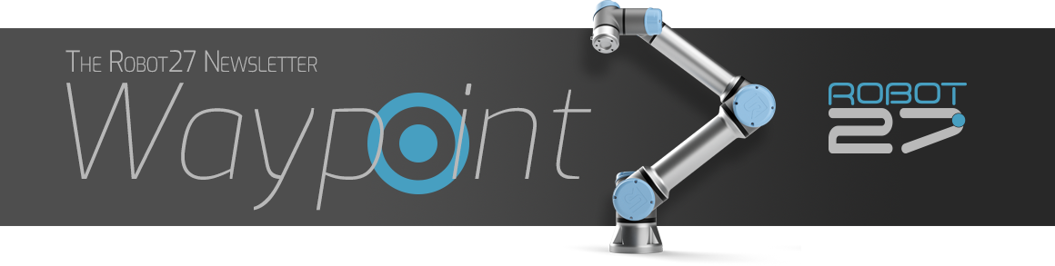 Waypoint Newsletter from Robot 27